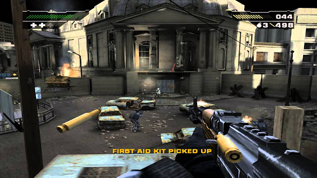Black PS2 GAME ISO Gameplay