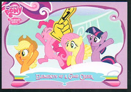 My Little Pony Elements of a Good Cheer Series 1 Trading Card
