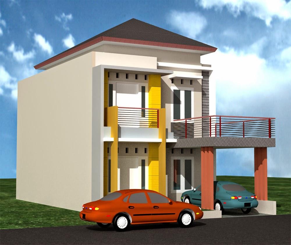Gambar Rumah Minimalis Modern 2 Lantai Type 21 | Expo ...