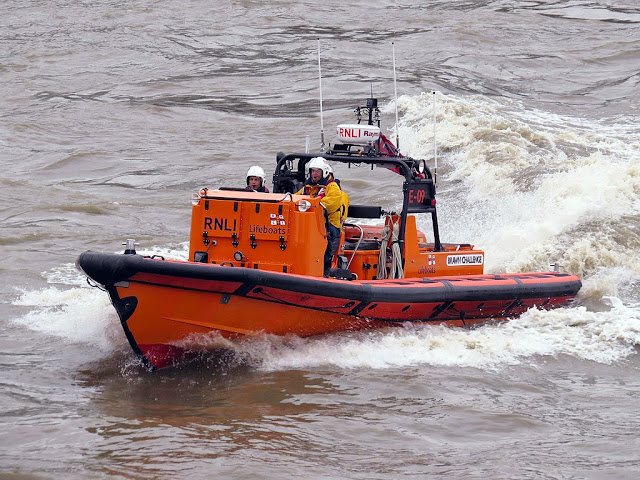 Brawn Challenge E-class lifeboat, Royal National Lifeboat Institution, London