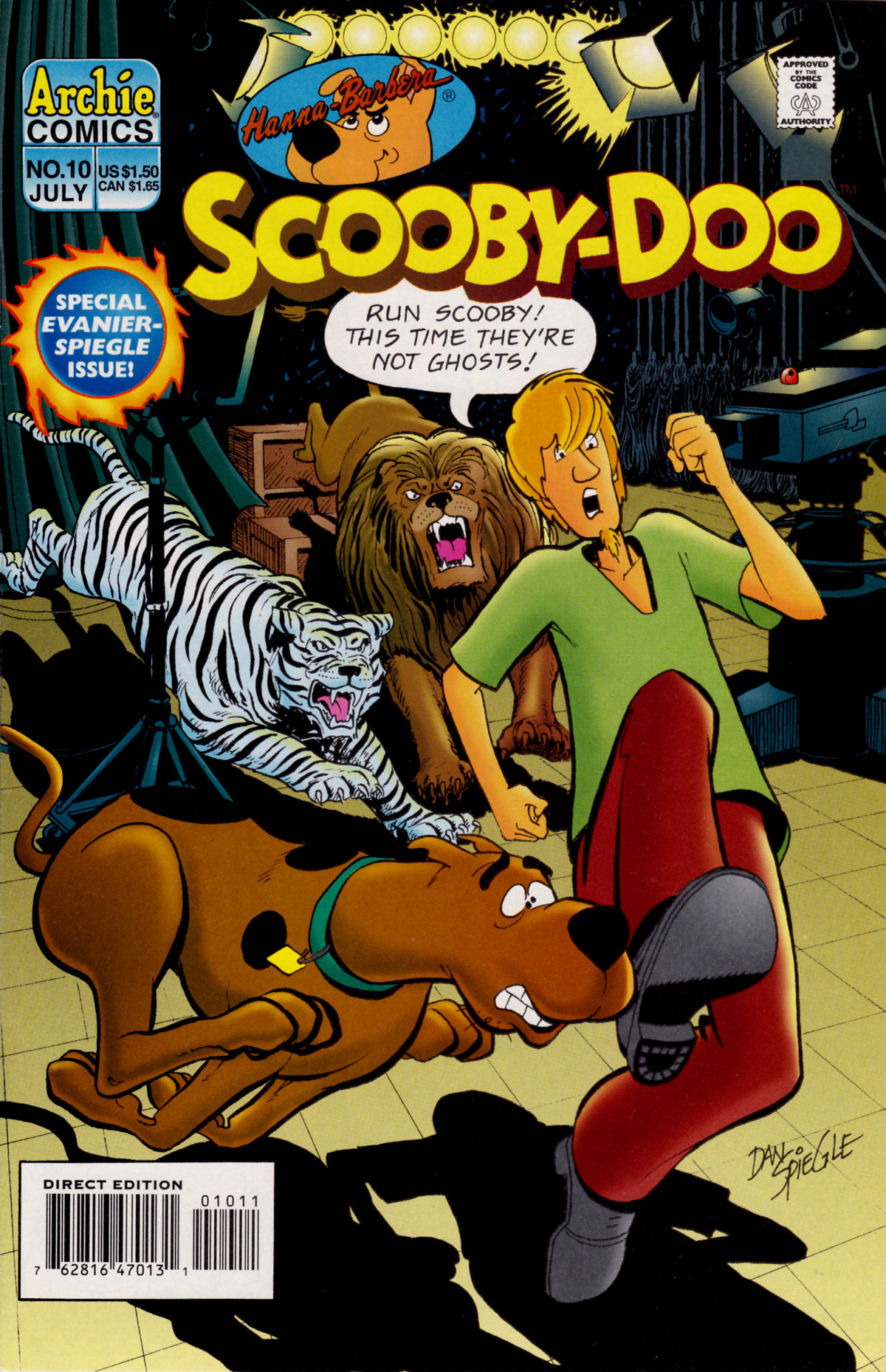 Read online Scooby-Doo (1995) comic -  Issue #10 - 1