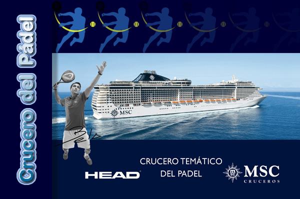 CRUCERO DEL PADEL - Si os apasiona el pádel, MSC Cruceros os ofrece el primer crucero temático del pádel.