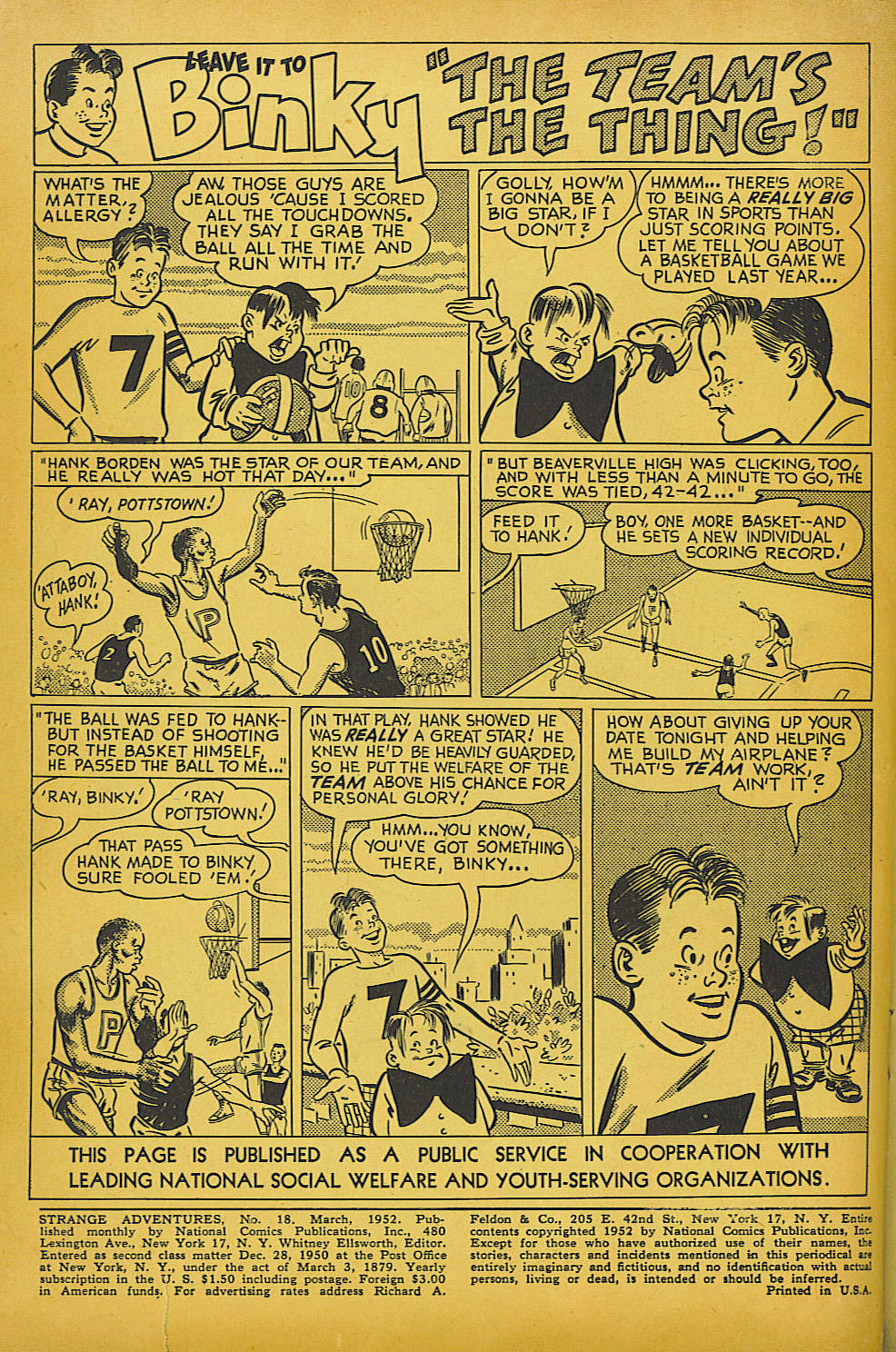 Strange Adventures (1950) issue 18 - Page 2