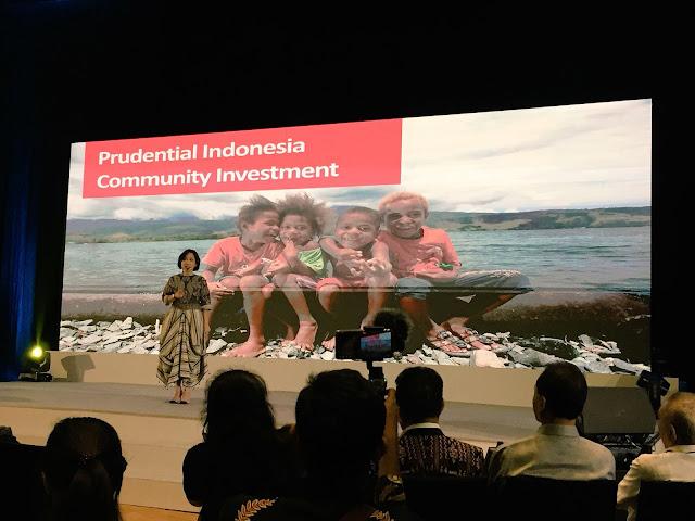 kewirausahaan fokus community investment prudential pemberdayaan indonesia timur