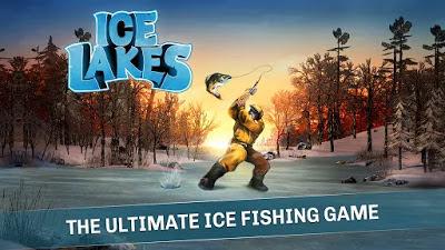 لعبة صيد السمك Ice Lakes