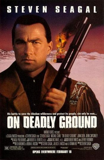 On Deadly Ground 1994 Dual Audio Movie Download