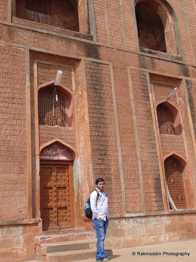 The Madrasa of Mahmud Gawan in Bidar, Karnataka