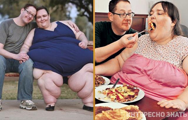 Вот как выглядят мужья и жены самых толстых людей мира
