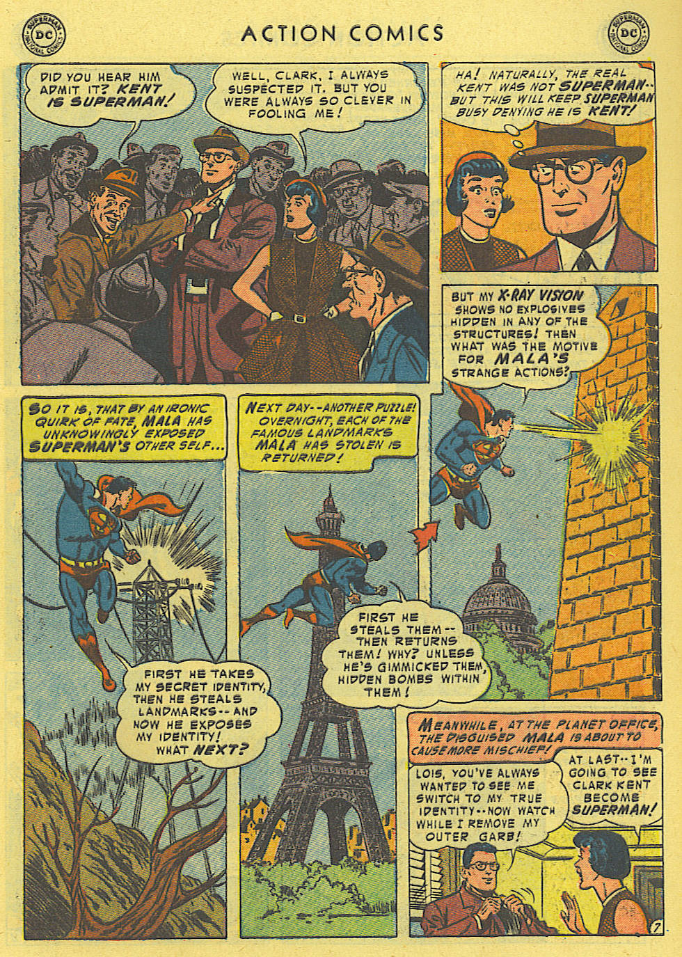 Read online Action Comics (1938) comic -  Issue #194 - 8