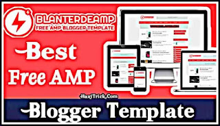 Blanterde AMP Free Blogger Template