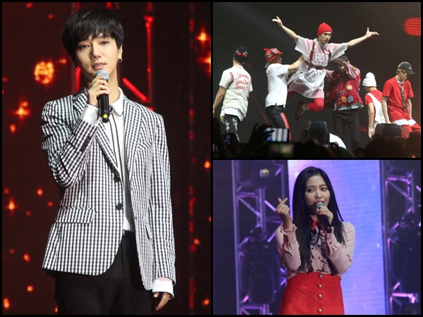 Photos] Yesung, NCT 127 & Red Velvet heat up I Seoul U Concert in KL