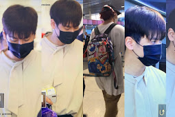 iKON Arrived at LAX (Los Angeles International Airport) for Head in The Clouds Festival by 88Rising 190817