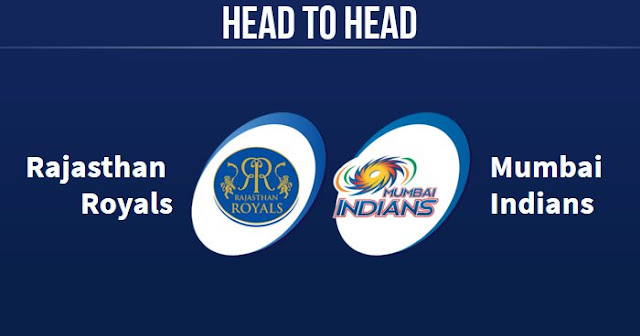 MI vs RR Head to Head RR vs MI Head to Head IPL Records
