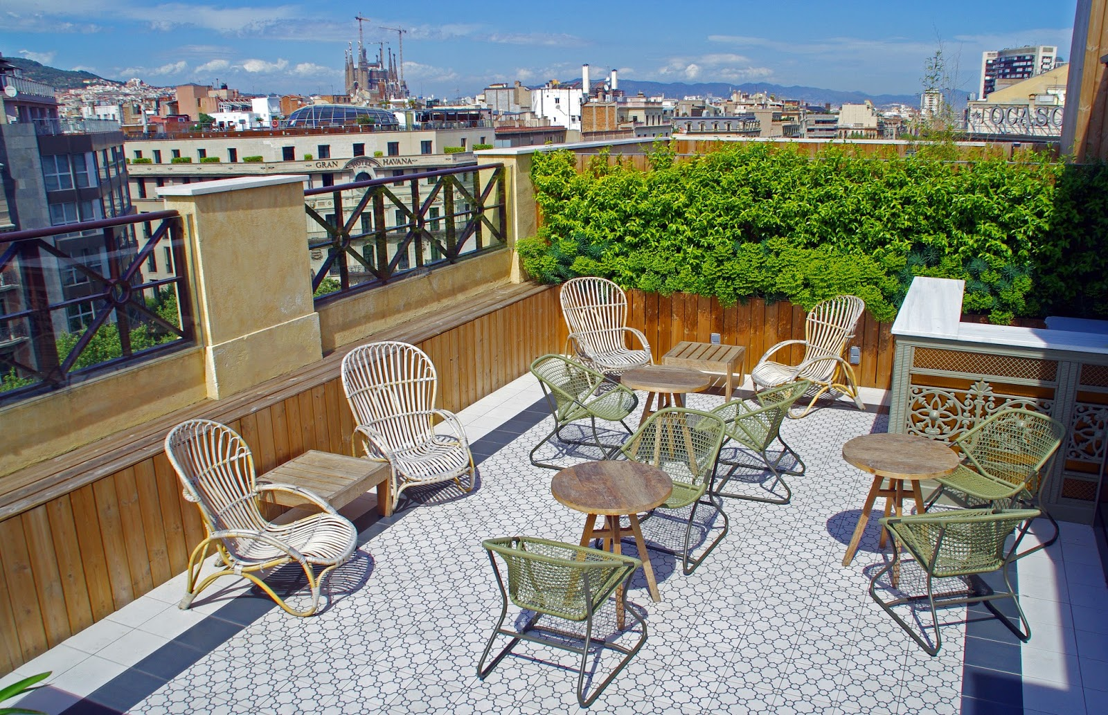 Cotton House Hotel Barcelona Rooftop