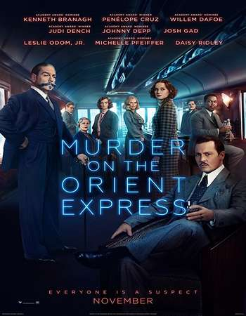 Murder on the Orient Express 2017 Hindi ORG Dual Audio 190MB BluRay HEVC Mobile ESubs