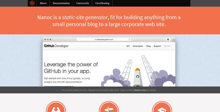 Nanoc static site publishing platform
