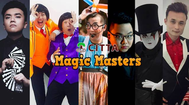 CITTA Magic Masters, happening this 17 and 18th March 2018
