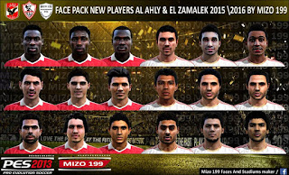 Facepack Egypt v2 Pes 2013 BY Mizo 199
