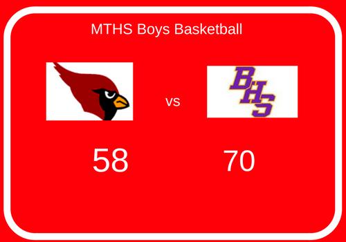 Metamora Boys Basketball Vs Bloomington, 2/11/2017
