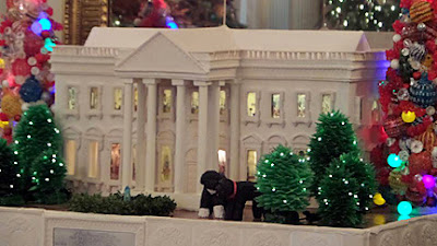 Gingerbread White House Features Obama Dogs Bo Sunny