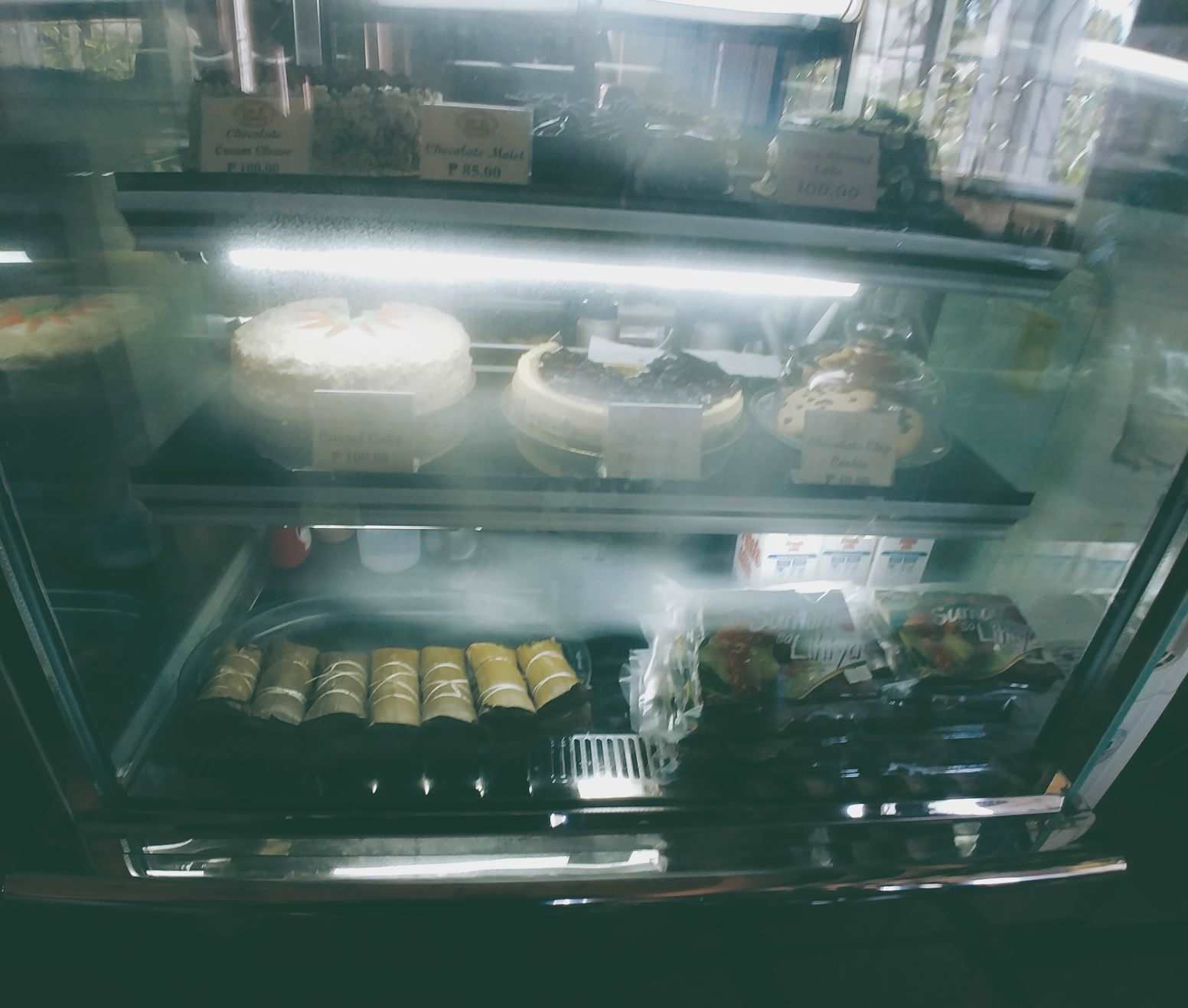native cakes and pastries sold at Cafe Amadeo