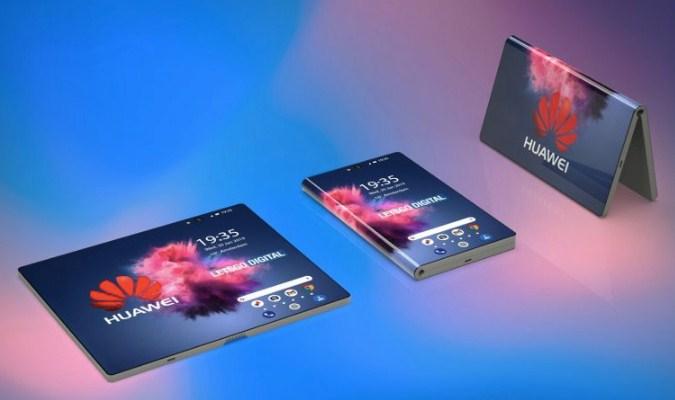 Penampakan Foldable Smartphone Pertama Huawei