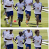Kenneth and Victor Moses train as Chelsea begin pre season