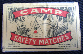 Box of Camp Safety Matches of the style found on Janowski (National Education Network Gallery website)