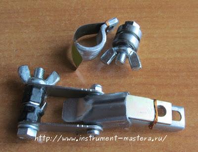зажимное устройство для бесштифтовых пилок лобзикового станка
