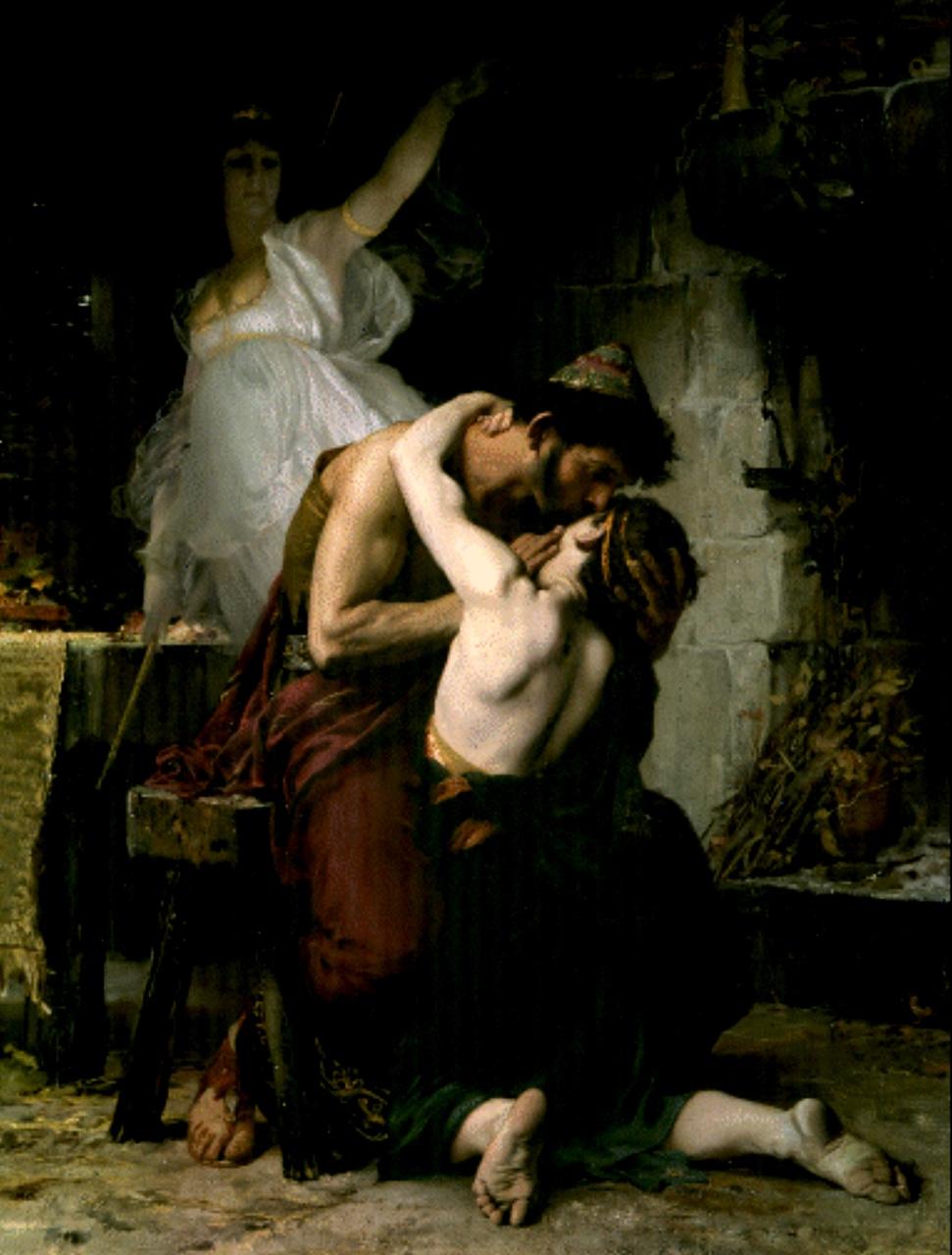 Telemachus And Odysseus Reunion