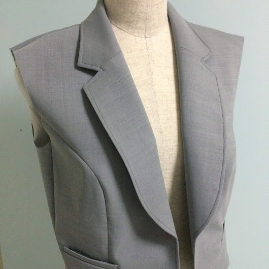 Gray short jacket #1