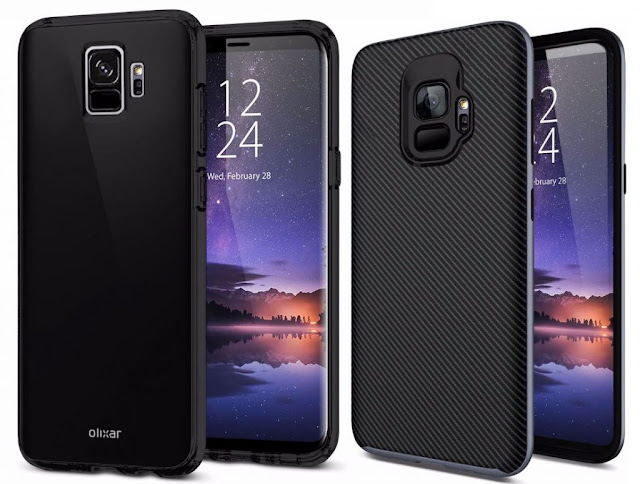 Leaked render of Samsung Galaxy S9 and S9+