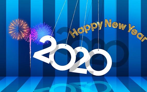 Happy New Year 2020 download besplatne pozadine za desktop 2560x1600 slike ecards čestitke Sretna Nova godina