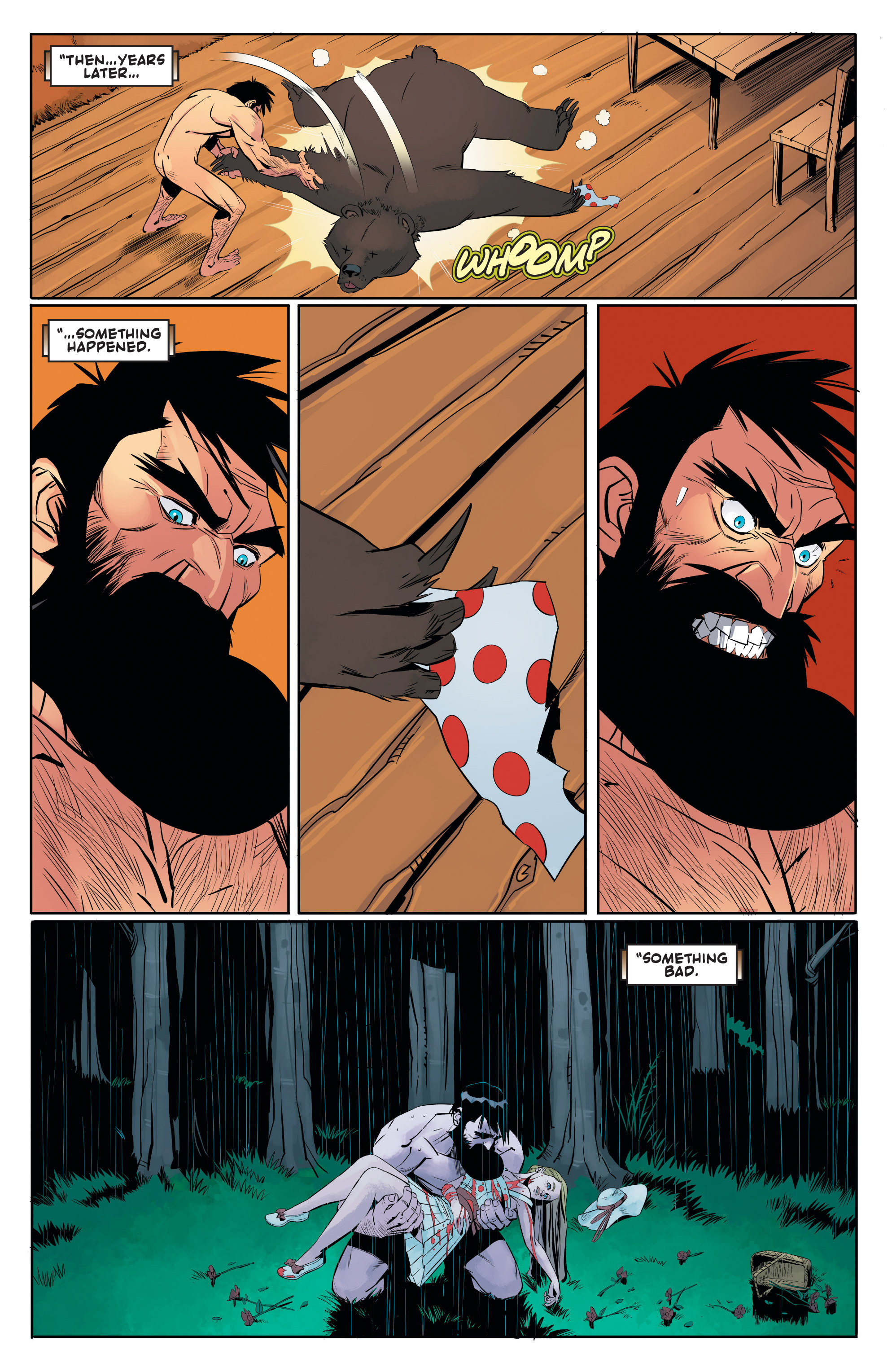 Read online Shirtless Bear-Fighter! comic -  Issue #1 - 21