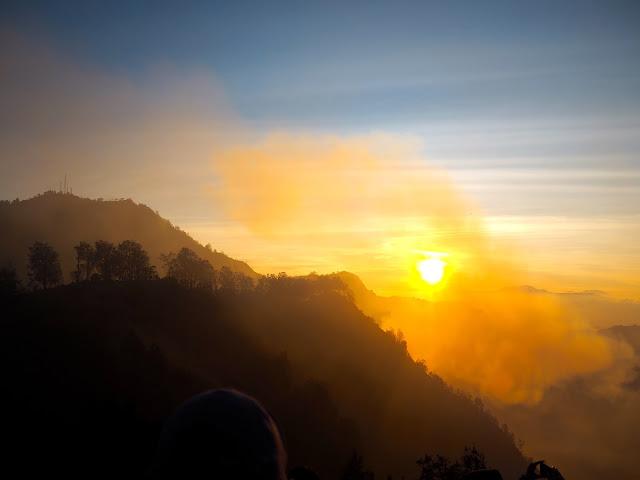 Sunrise at Mt Bromo, East Java, Indonesia