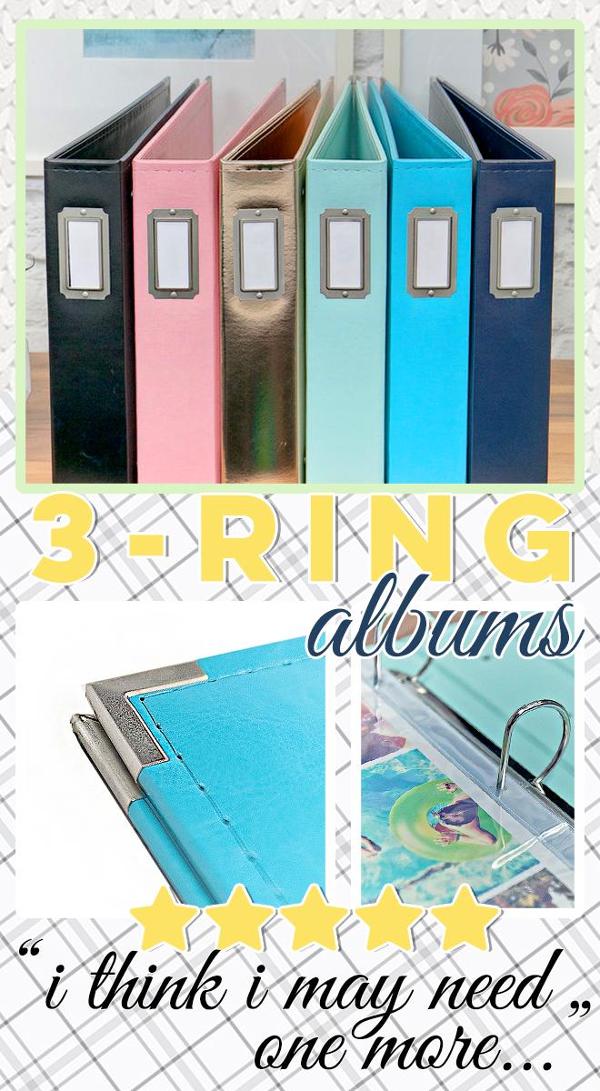 WRMK 3-ring albums