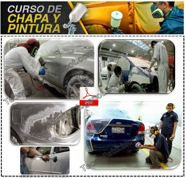 """""""Curso, Manual Chapa, Latonería y Pintura Automotriz"""""""