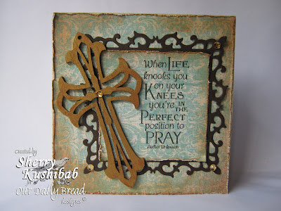 Our Daily Bread Designs, Sherry Kushibab, Pray from Full of Grace Collection