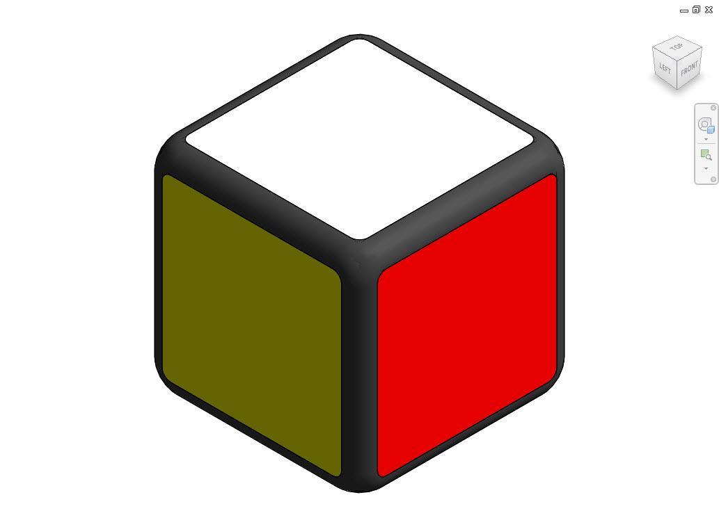 revit down to the details rubik 39 s cube part 1. Black Bedroom Furniture Sets. Home Design Ideas