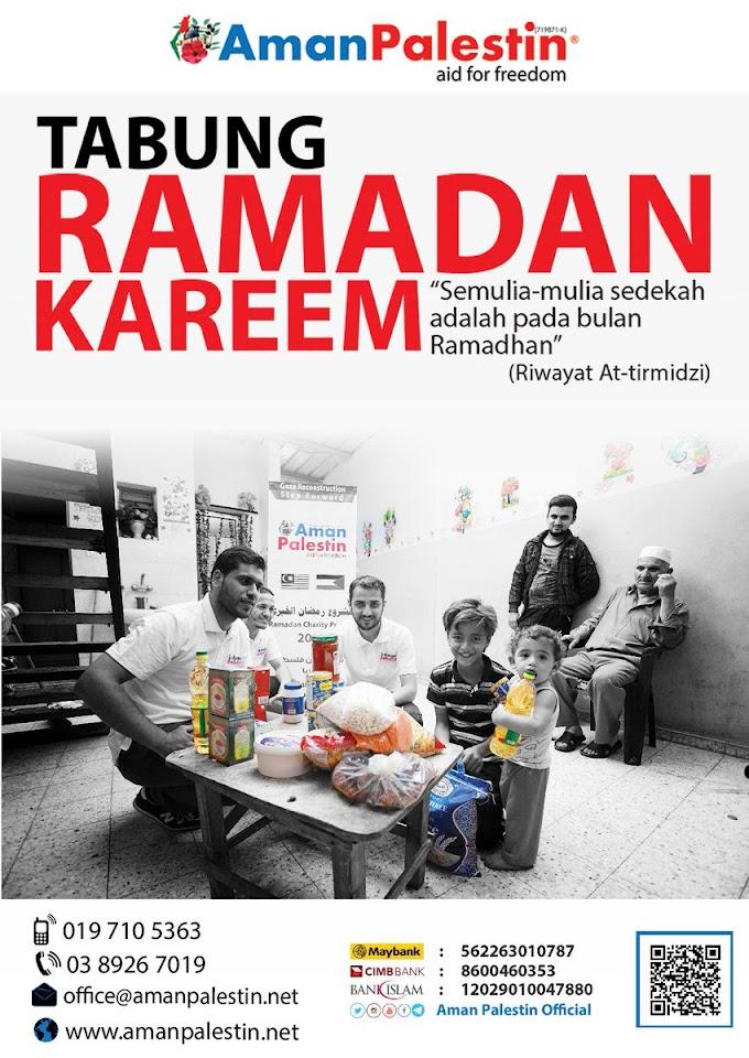Ramadhan bersama palestin