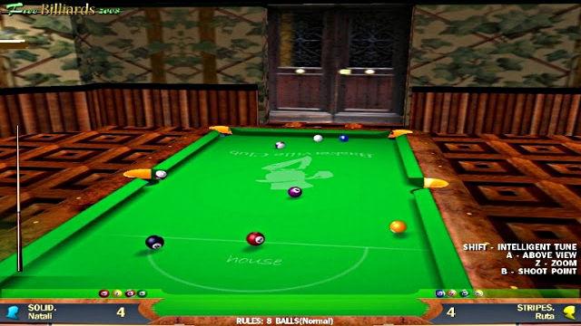 Free Billiards 2008 - Image du Jeu