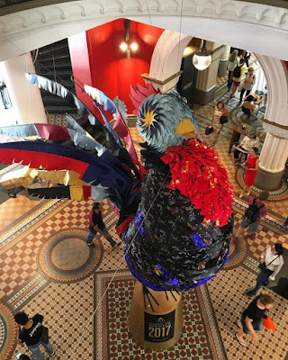 Chinese New Year Rooster in the QVB