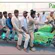 Top Whatsapp Funny Pictures from Pakistan - Longest Bike ~ Khan Doing Everything...