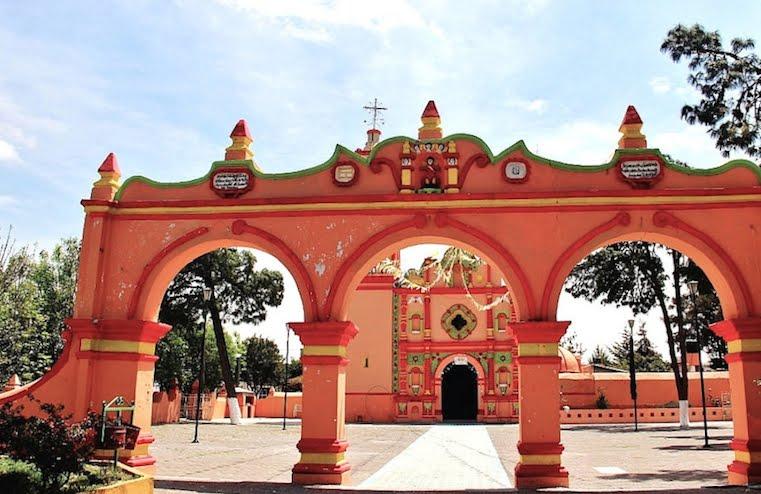 colonialmexico: The Churches of Quecholac: San Simón de Bravo