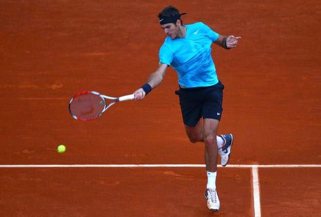 Juan Del Potro Roma Tenis Turnuvası 2013
