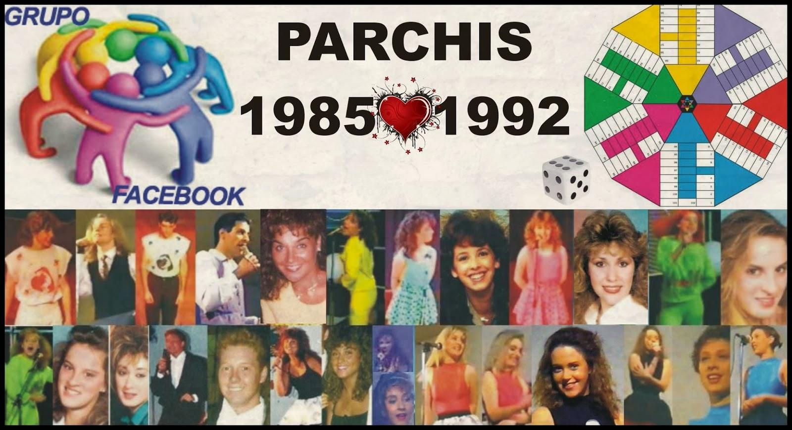 Parchis la saga etapa 1985 1992 reconocida por divucsa for Grupo facebook
