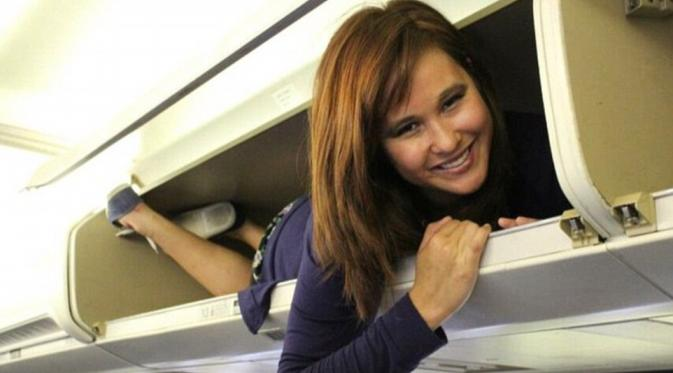 kapasitas bagasi pesawat diperhatikan