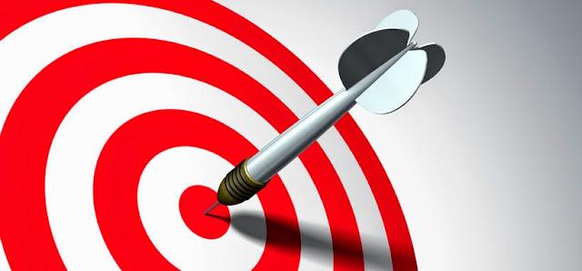 Imagen de un diana / target para el artículo sobre el cálculo del ROI en ARTE Marketing