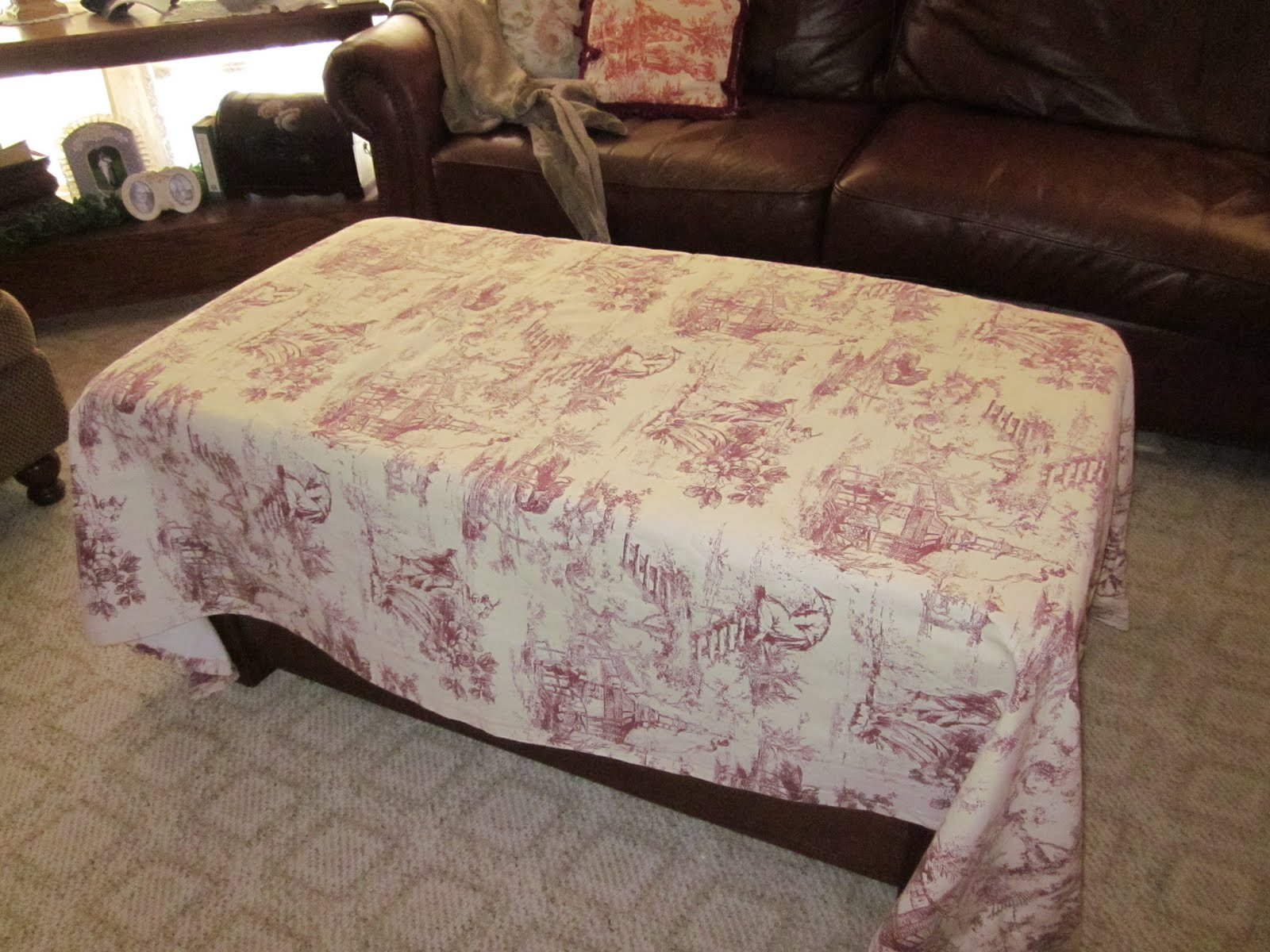 Coffee Table Slipcover