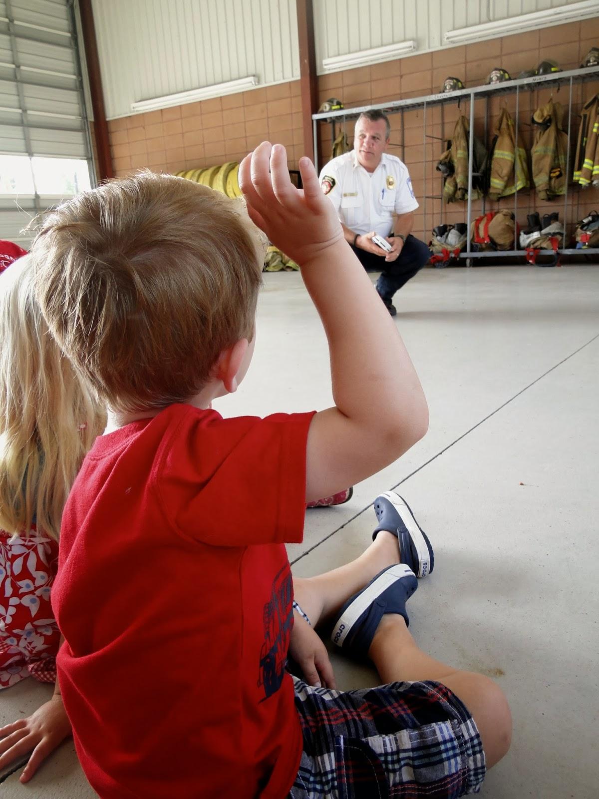 Fire Station Visit 2013